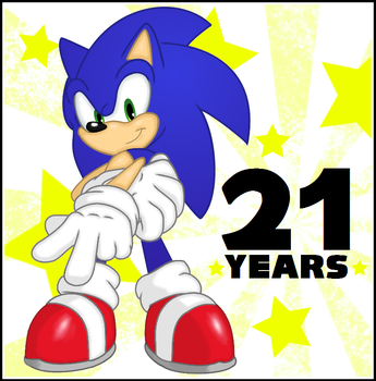 21 Years of Sonic by BSWPrecious