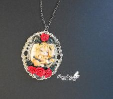 Lady Oscar Rose in Versailles by AyumiDesign