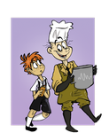 Cooking Lesson by kanoomoo