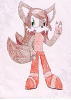 Lexy the fox :commission: by MistrissTheHedgehog