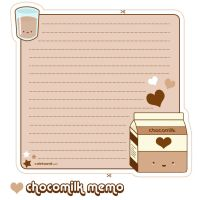 Chocomilk Memo Sheet by riaherod