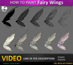 How to paint Fairy wings by JesusAConde