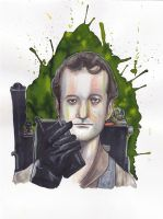 Peter Venkman by Sternentee