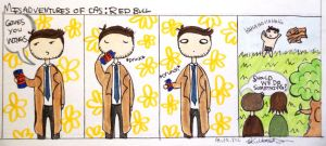 Misadventures of Cas: Red Bull by AlulaDreamCreations