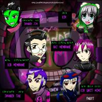 Invader Zim Characters by Graffiti2DMyHeart