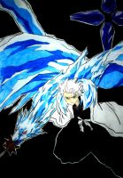 Toshiro Hitsugaya - Bankai by w3ph