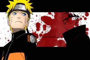 Naruto and Pain by vrxthefullalchemist