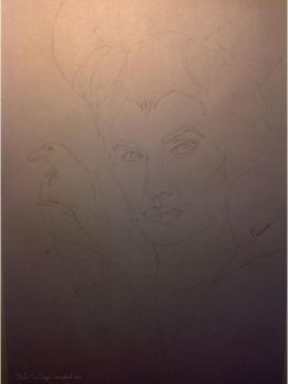 Maleficent WIP by Books-Music-Dragons
