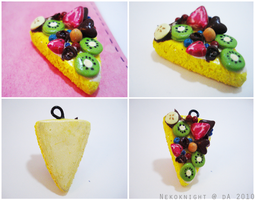 Fruit Cake Charm by Nekoknight