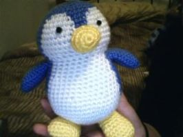 Crochet Penguin by katrivsor