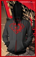 Superman Red Son Hoodie by prathik