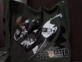 Soul Eater Messenger Bag by Petpettails123