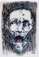 Tortured Face Wrightson by TheCoffeeBaron
