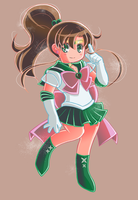 Sailor Jupiter by Hadibou