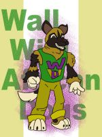 Wall Wild African Dogs Mascot by systemcat