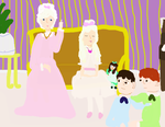 Aristocats as humans by freacls