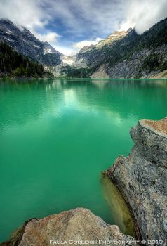 Blanca Lake II by La-Vita-a-Bella