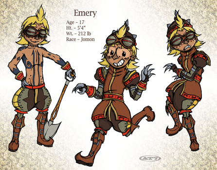 Introducing, Emery by aftertaster7