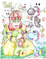 A buddy for Bowser by Bowser2Queen