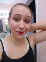 Theatre - I Really Hate Makeup by SpeckledHeart
