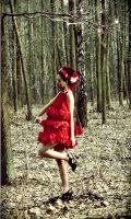 Red dress...roses by TwISHH