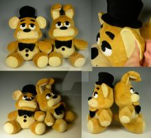 FNAF Teddies by WhittyKitty