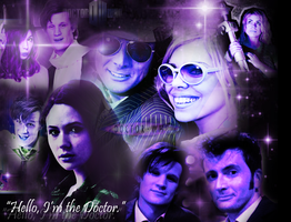 Doctor Who Wallpaper by Floppy-Doggie