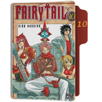 fairy Tail Tome 10 Folder by sostomate9