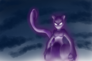 Mewtwo by Nalenthi