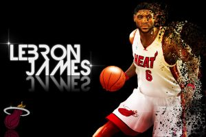 Lebron James NBA 2K11 by pgilladdy