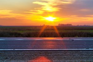 Sunset Triangle HDR by sztewe