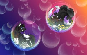Double Bubble - Night n' Freya by Wazaga