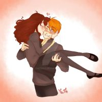 Ron + Hermione by Faith92