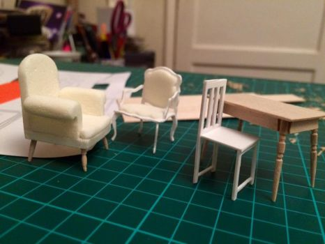 Tiny Furniture by FireLillyLove