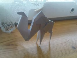 It's a camel. :D by rosebuster