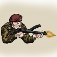 British Paratrooper by SquireJames