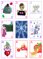 MLP Cards Preview by CosmicWaltz