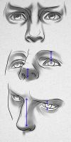 How to draw eyes from a difficult POV by GrayHood