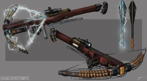 The Order 1886 : Automatic Electrified Crossbow by InVenatrix