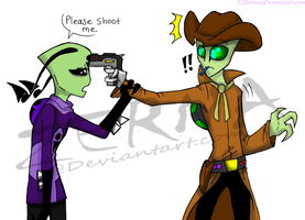 Please Shoot Me by Zerna
