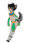 Egyptian Cutie :3 by HonorAmongScars