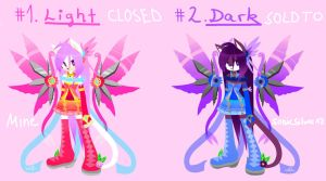 Sonic Adoptables- Angels 2/2 CLOSED by KenotheWolf