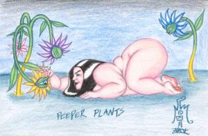 Peeper Plants by LimeGreenSquid