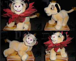 Limited Edition Simba Plush by Kainaa