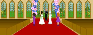 Wedding of the Queens by CancerSyndrome