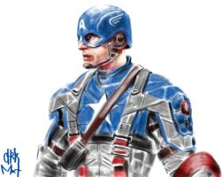 Captain America by chrismoet