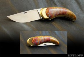 The Golden Rock by DetloffKnives