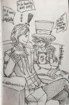 GF: Bill Cipher - Read me a story! by LadyGatto