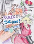 Panic Robot At School! -cover- by Streled