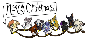The Night before Christmas! by xWolfPrincex